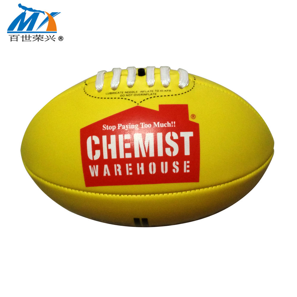 aussie rules football toy old tpu Aussie rule football american football
