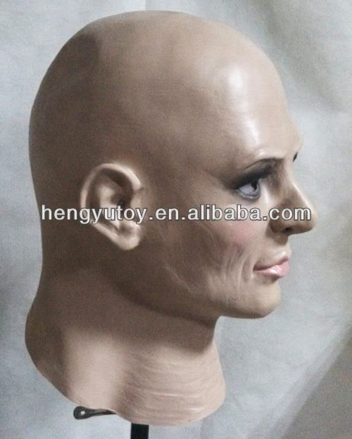 Realistic human Latex Mask