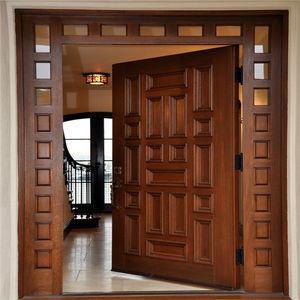 Buy Secure Robust Wooden Door Designs For Indian Homes In Trendy Designs Alibaba Com