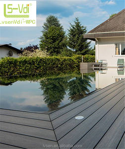 Made In China Holz Boden Hohe Qualität Decking Wpc Clip Wpc Klicken Decking