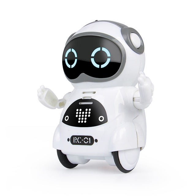 2018 Hot selling B/O mini AI robot dancing musical robot intelligent toys