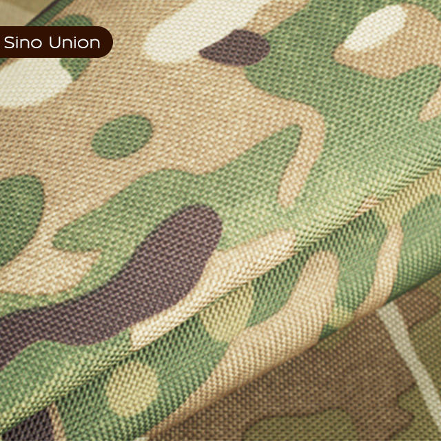 green camouflage printed PVC laminated 100 polyester car body cover fabric