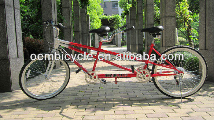 26inch hot sell new style folding tandem bike