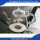 China Teapot China Wholesale Low Price Mouth Blown Glass Teapot And Warmer Set