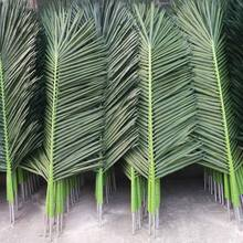 Outdoor Plastic Fake Artificial Palm Leaves