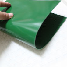 Rubber PVC drive conveyor belt for worktable