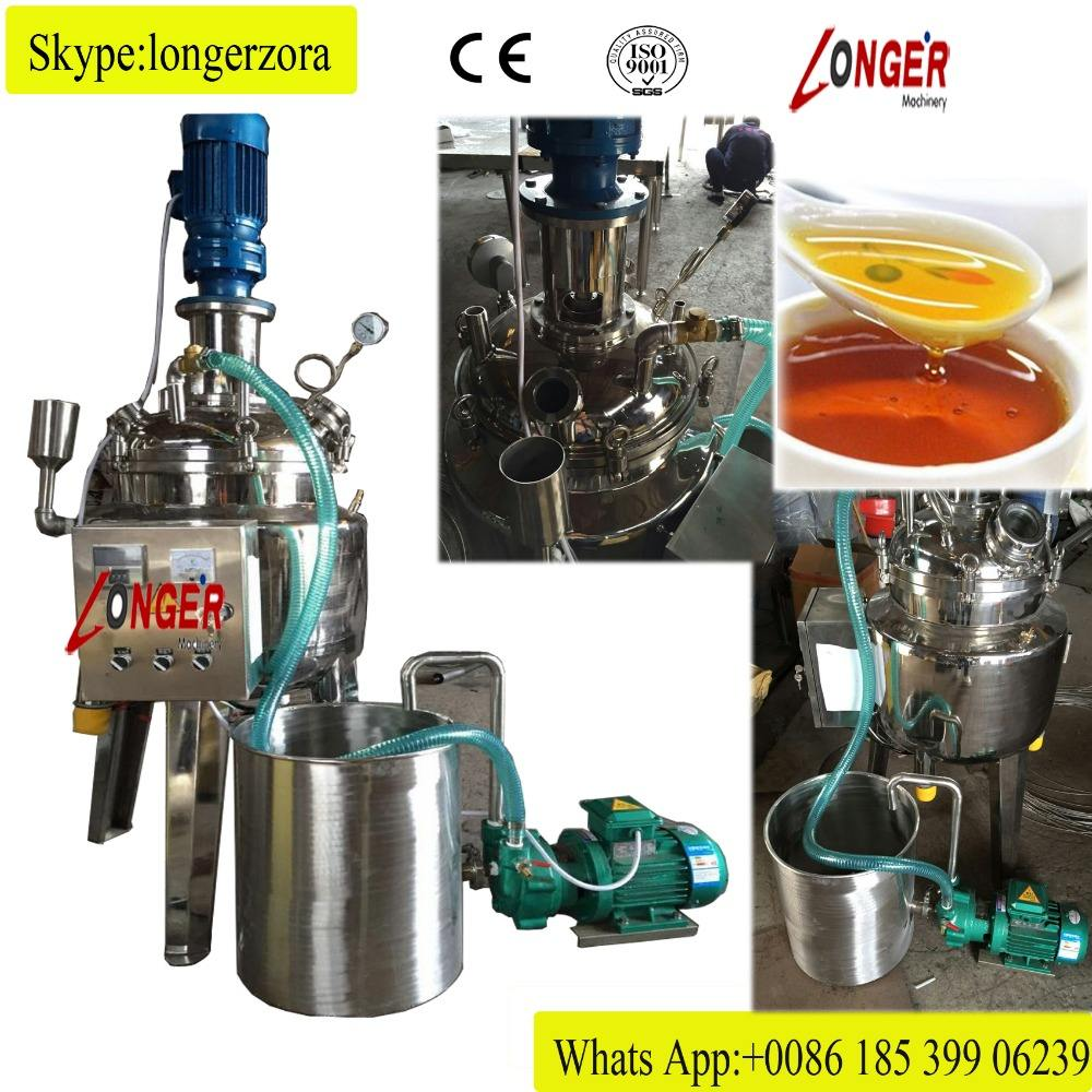 Multifunction Steam Type Syrup Cooking Machine Syrup Boiler