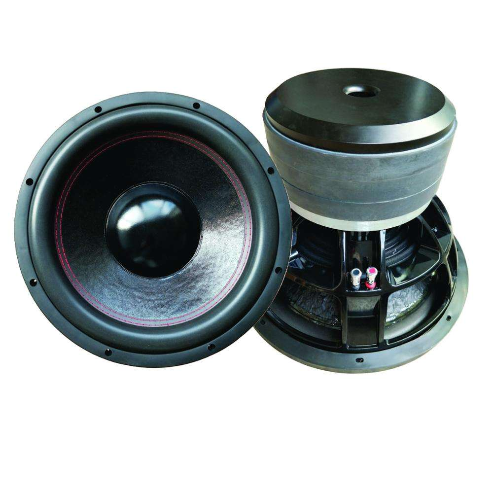 15 inch car audio high SPL subwoofer for competition,2500w RMS