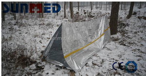 Mylar thermal tent