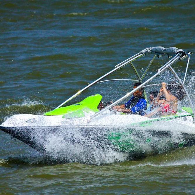 fiberglass wakeboard ski boat for sale