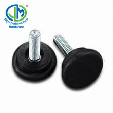 Non-slipping Plastic Adjustable Feet Furniture Glides Thread Screw