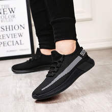 2019 New Design light Sneakers Mesh Latest Men Sport Shoes