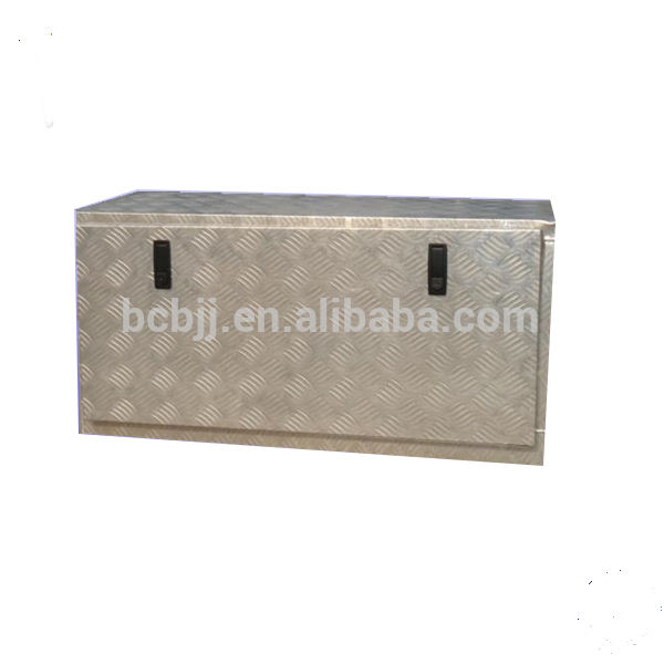 Aluminum Truck Tool box with shelf for Pickup UTE truck