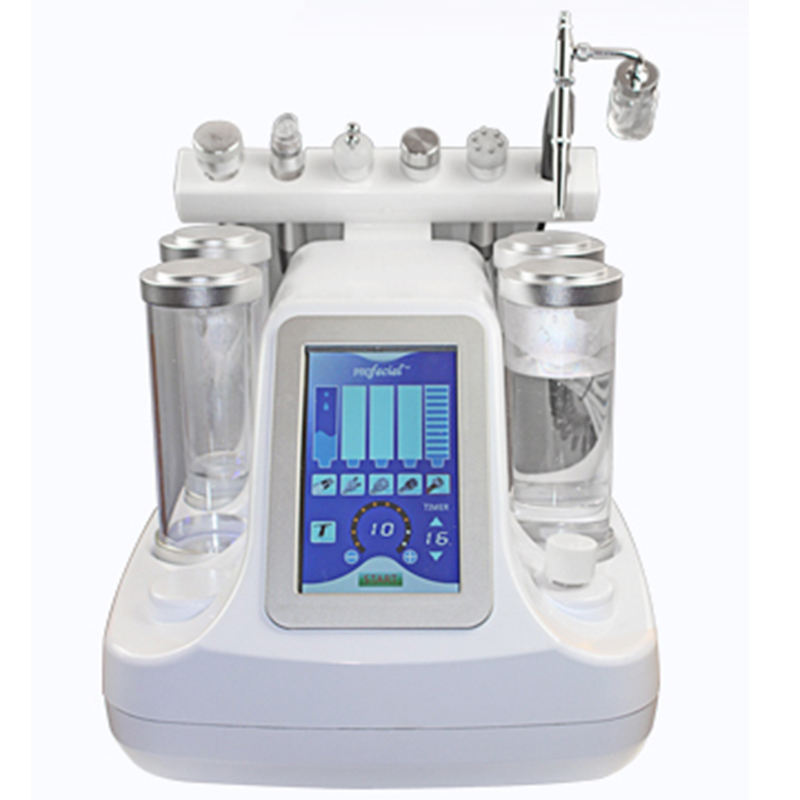 6 in 1 Multi-functional Beauty Equipment with Aqua Facial Peel Skin Care Machines