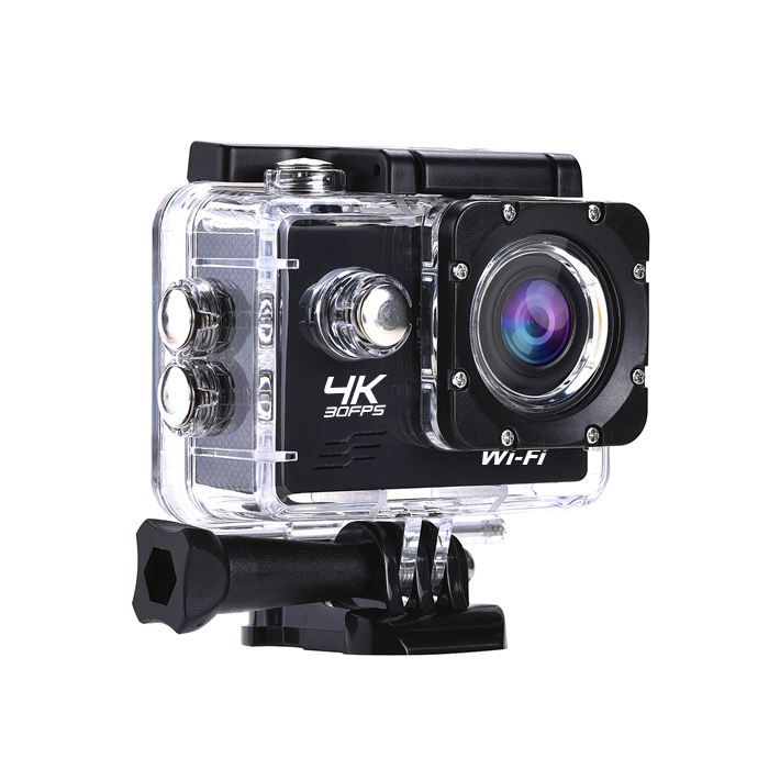 WiFi Action Camera Ultra HD 4K 30fps 16MP 170D 1080P Olahraga Kamera Mini DVR 30M Pergi Tahan Air pro Cam Ekstrim Olahraga Kamera Video