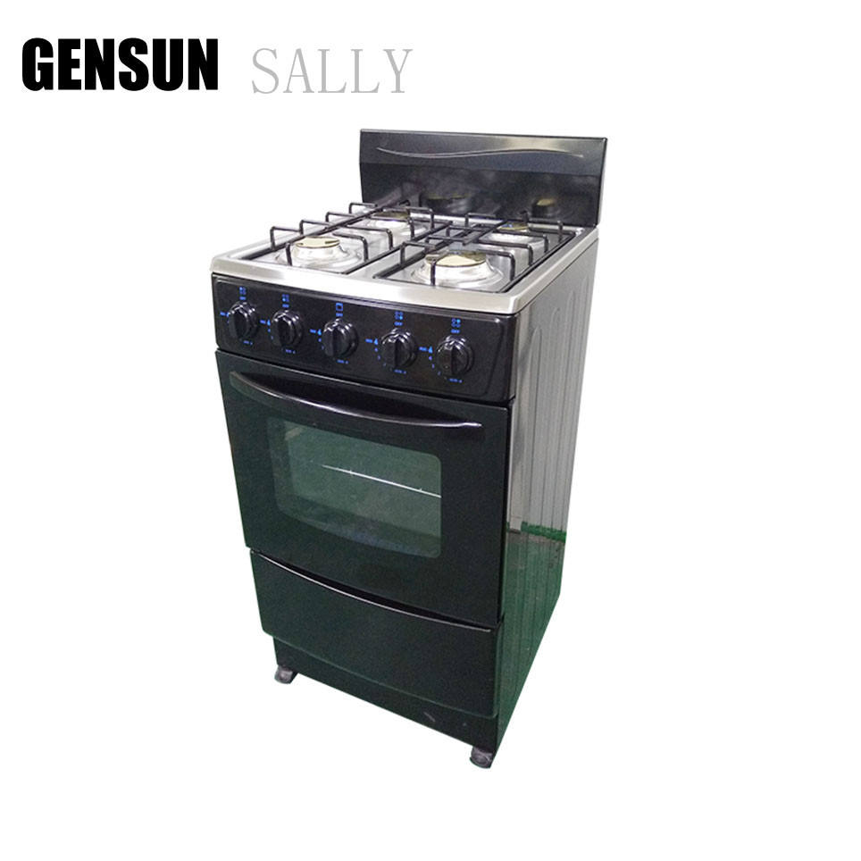 free standing gas oven/gas range with oven/gas range with 4 burner & oven