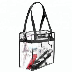 Fashion Clear Jelly Messenger Bag, Clear Pvc Messenger Bag