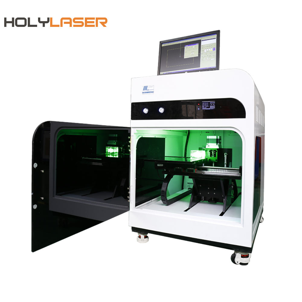 Crystal cube glass 2d 3d photo inner laser engraving machine