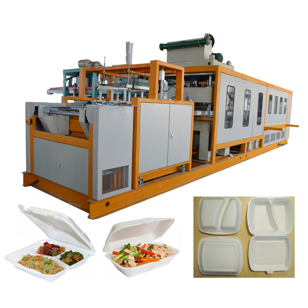 Environment friendly foam food plate machine to make disposable plates