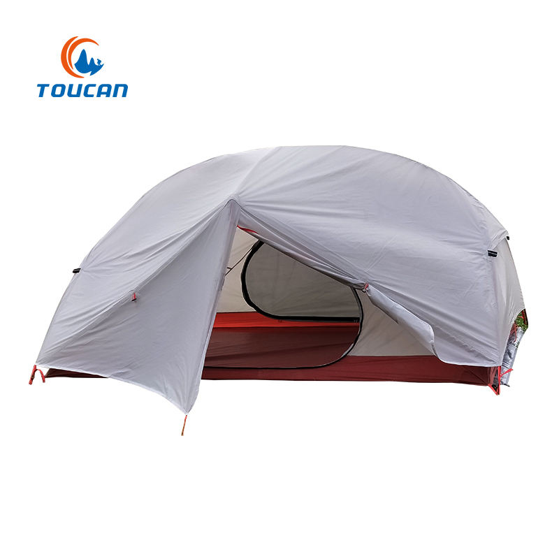 High Quality 2 People Ultralight Backpacking Tent