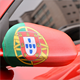 Wholesale stretchy Portugal flag car mirror cover