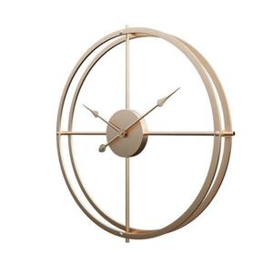 Oversized Nordic Art Luxury Decorative Room Handicraft modern home decor Metal Wall Clock
