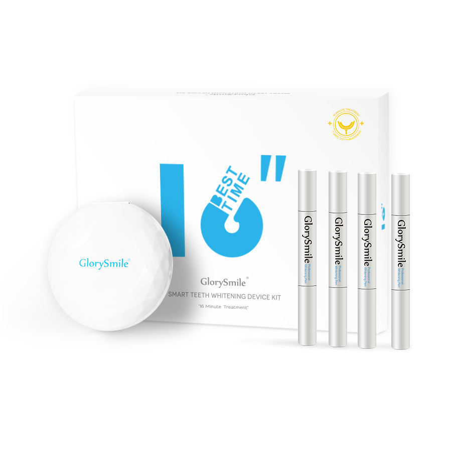 CE Approved Blue Light Teeth Whitening LED Home Kit Phone Connect Beautiful Teeth Whitening Kit Private Label Available