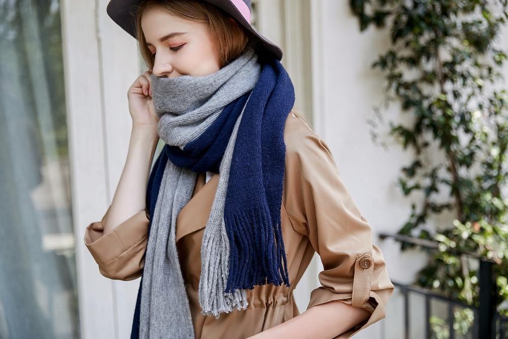 Женские шарфы: главные принципы выбора