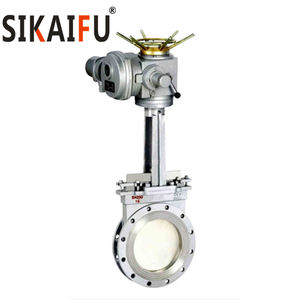 Manufacturing OEM Dependable High Demand Performance Vaccum Electric Knife Gate Valve