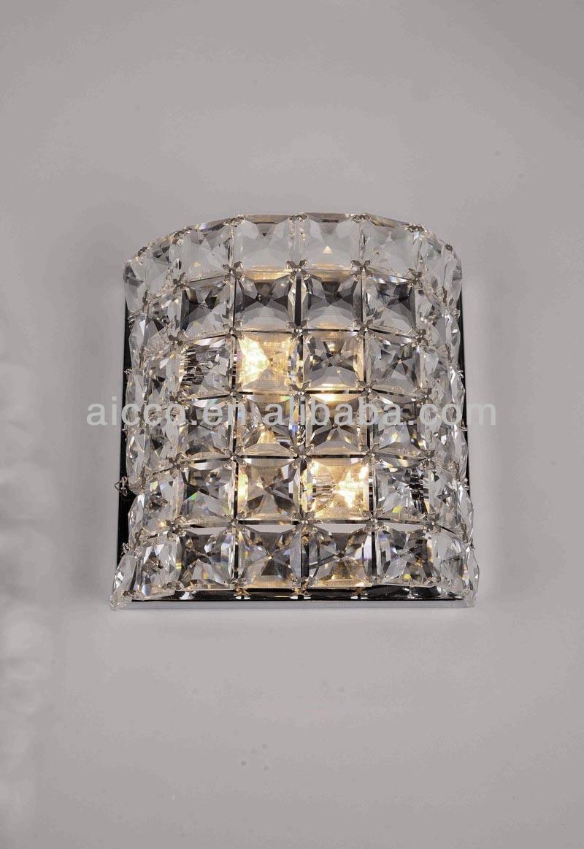 vendita calda moderna chiara led lampada da parete in <span class=keywords><strong>cristallo</strong></span> <span class=keywords><strong>asfour</strong></span>