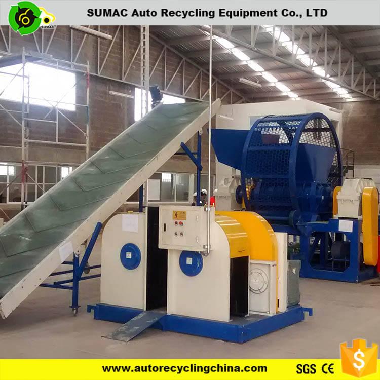 Chuyên nghiệp phế liệu lốp tái chế chi phí máy