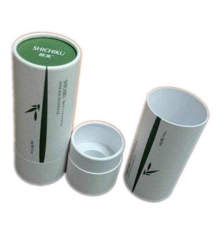 Round paper tube paper box for food packaging