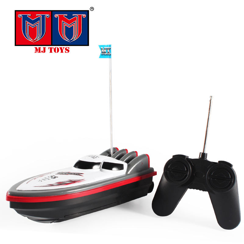 4CH high speed ship kids favorite toys controlled rc boat parts for wholesale