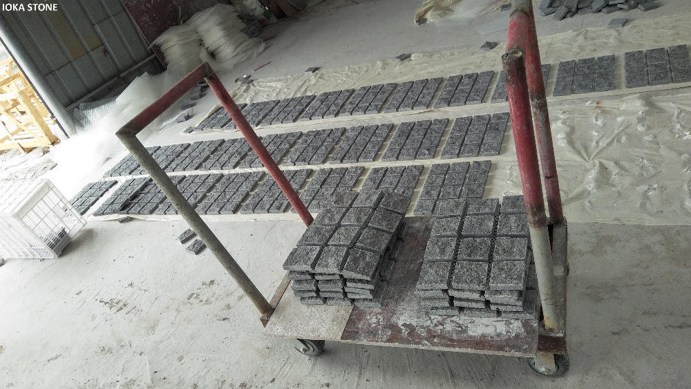 Driveway Paving Stone G654 Granite Paving Stone For Driveways Patios
