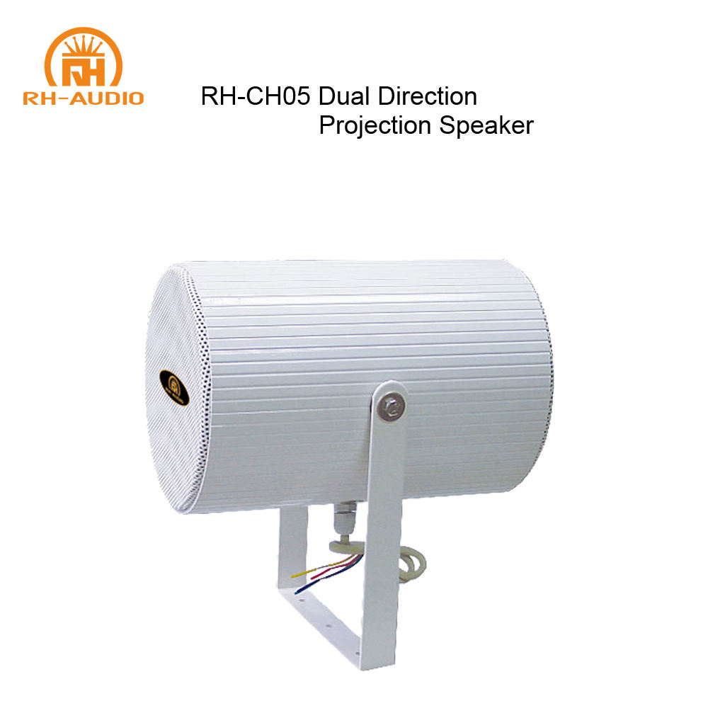 RH-AUDIO 20W Wall Mount Dual Direction Projection Speaker for Outdoor/Indoor PA System
