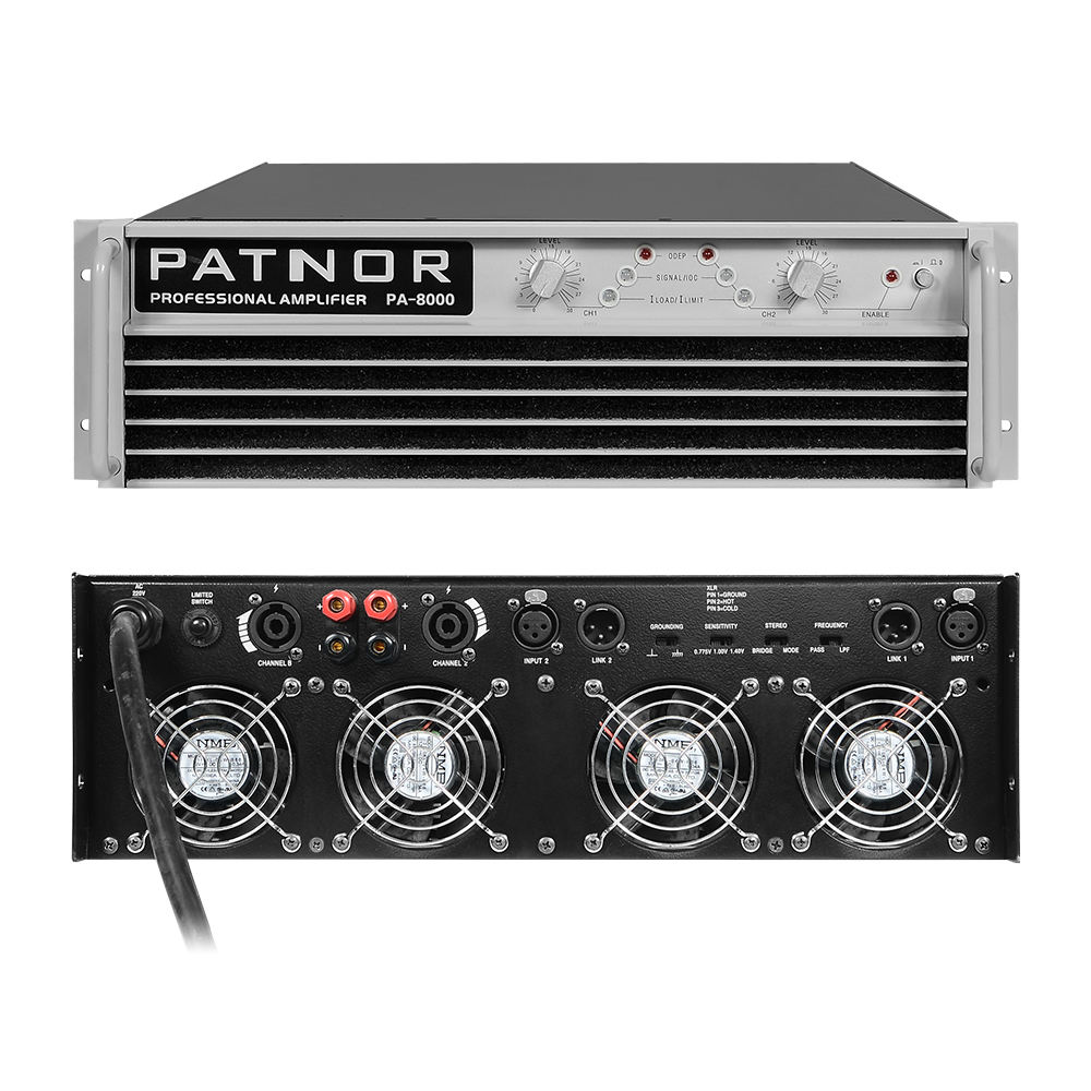 10000 Watt Power Amplifier 2 Saluran Kelas H Profesional Power Amplifier