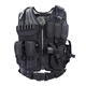 TV63 Tactical CS Field Vest Outdoor Ultra-light Breathable Combat Training Vest Adjustable For Adults 600D Encryption Polyester