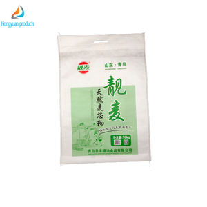 high quality white non- woven wheat flour and maize flour packing bag