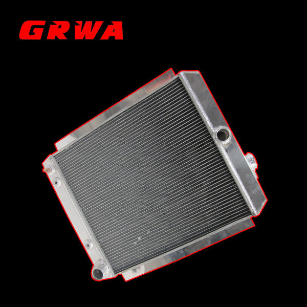 """2 Row Radiator with 1/"""" Tubes For 49-54 Chevy Pickup alum radiator AS"""