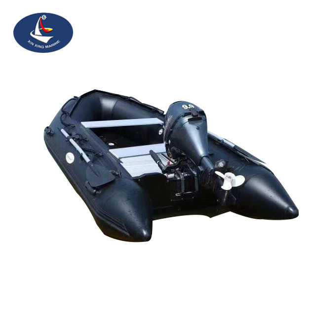 PVC vissersboot draagbare boot pvc dinghy