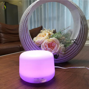 Allwway Rose Forma purificador de Aire del USB humidificador Esencial de aromaterapia difusor del Aceite del Aroma del difusor del Aroma el/éctrico Fabricante de la Niebla