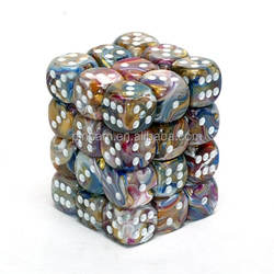 Manufacturer Polyhedral dice Colorful Diagnostic Dice For Board Game