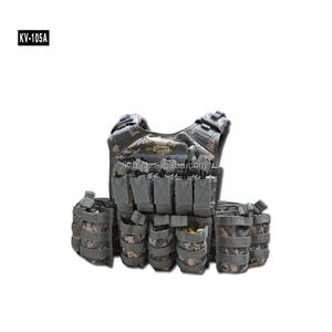Airsoft regolabile tattico ambito militare vestMilitary airsoft molle tactical assault vest nero all'ingrosso