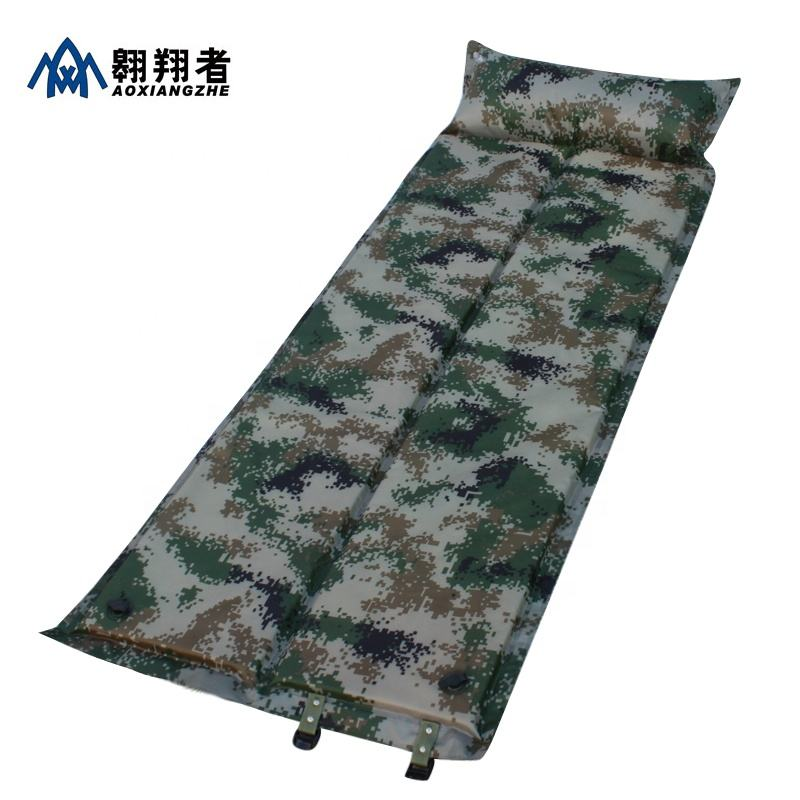 wholesale outdoor waterproof self inflating hunting sleeping pad