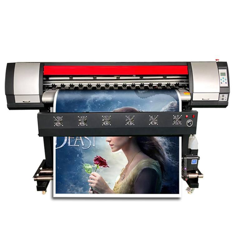 Digitale Eco Solvent Printer Met Dx5 Dx7 4720 Canvas Teken Printer Indoor En Outdoor Drukmachine
