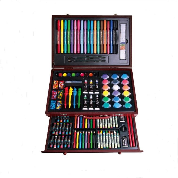 high quality 123PCS super artist tool kit eco friendly stationery for sale