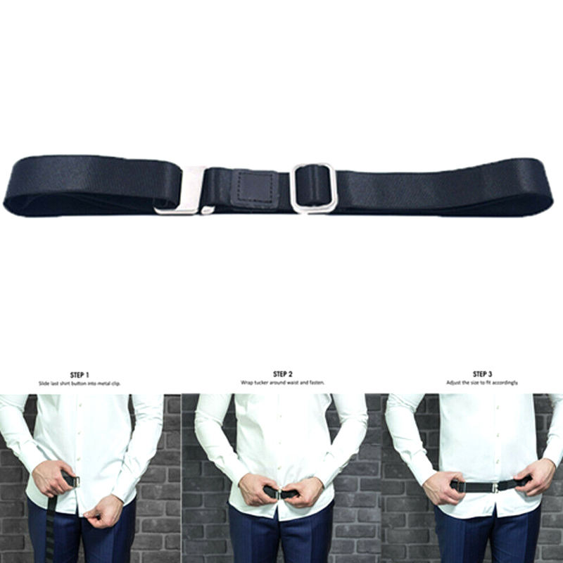 Shirt Holder Adjustable Near Shirt Stay Best Tuck It Belt for Women Men Work Interview