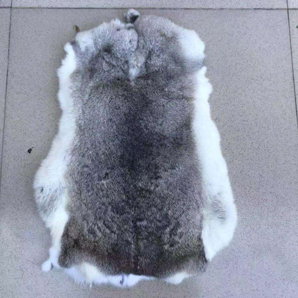 Wholesale Natural Color rex rabbit Fur Skin Pelt For Garment