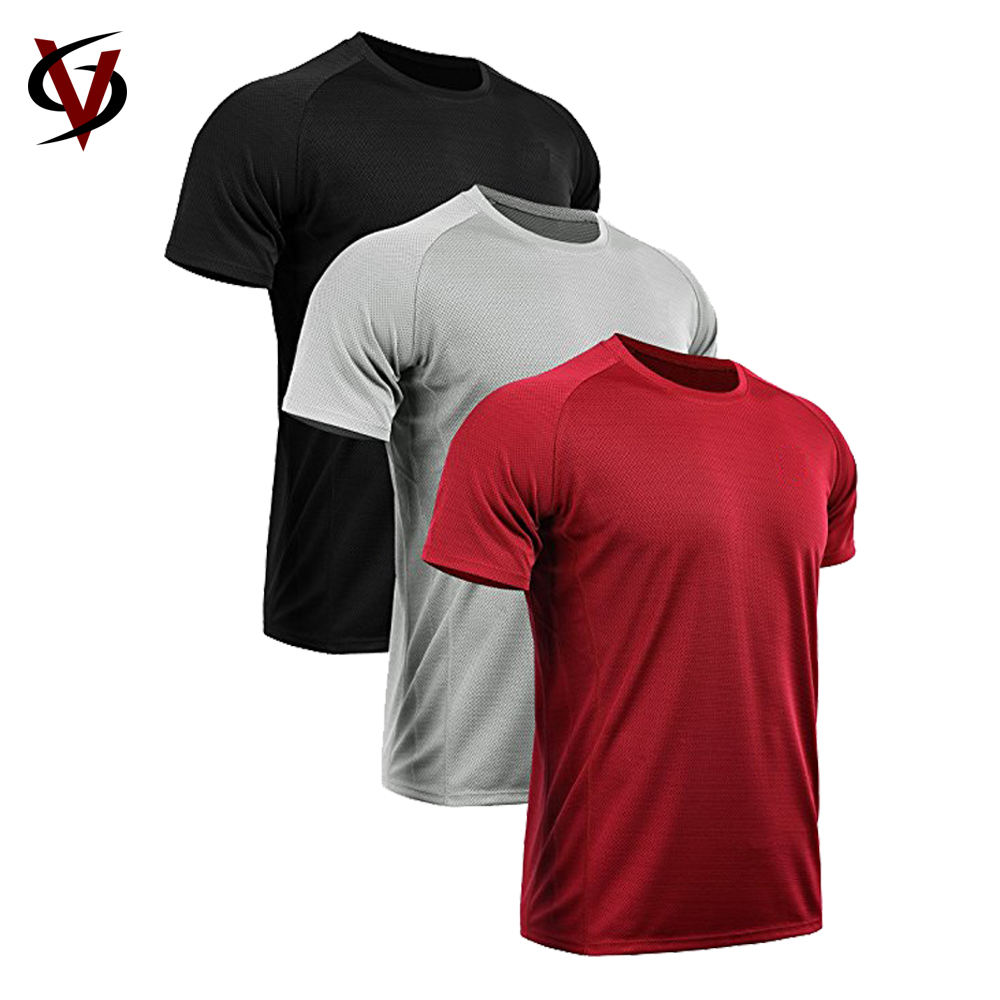 100% Polyester New Design T-shirt Blank Dry Fast T Shirt Wholesale