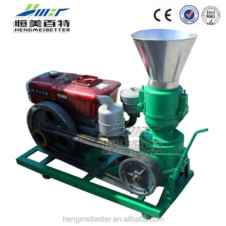 New style flat die EFB wood pellet mills for sale